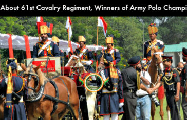 Know About 61st Cavalry Regiment, The Winners of Army Polo Championship