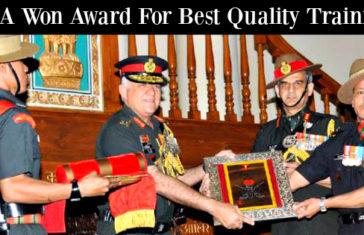 IMA Won Award For Best Quality Training