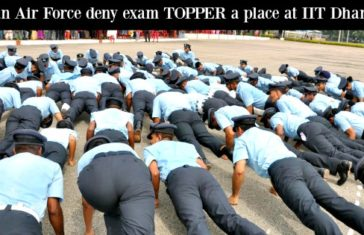 Indian Air Force deny exam TOPPER a place at IIT Dhanbad