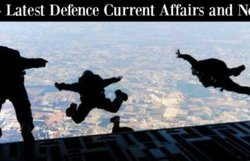 Latest Defence Current Affairs