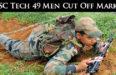 SSC Tech 49 Men Cut Off Marks