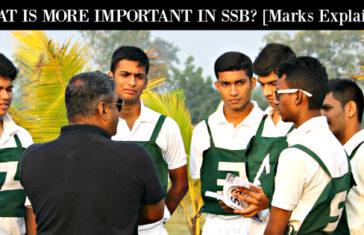 ssb interview marks
