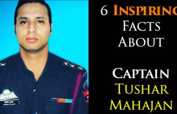 6 Inspiring Facts About Captain Tushar Mahajan