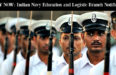 Indian Navy Education and Logistic Branch Notification