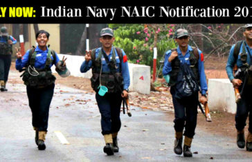Indian Navy NAIC Notification 2017