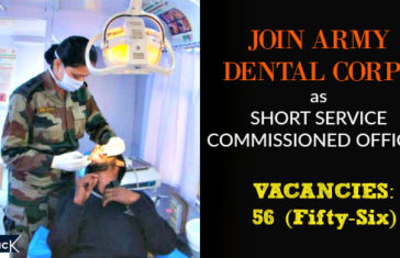 JOIN ARMY DENTAL CORPS