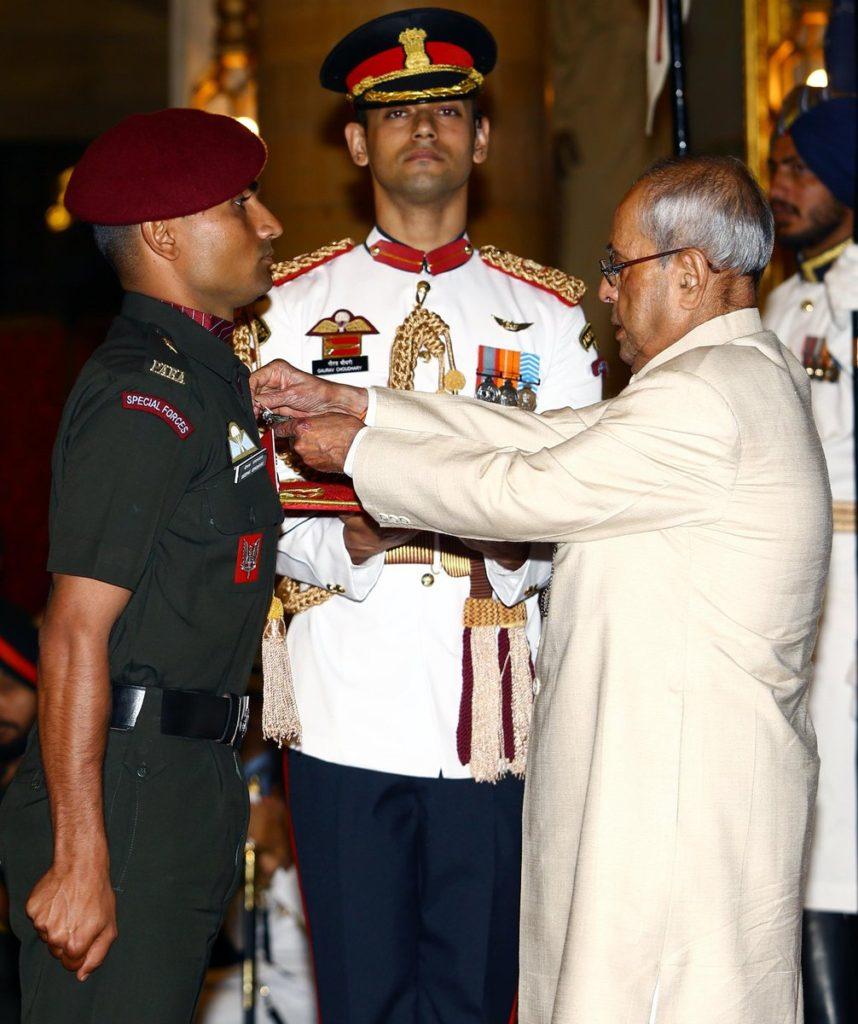 Major Deepak Kumar Upadhyay
