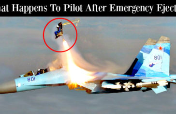What Happens To An Air Force Pilot After Emergency Ejection