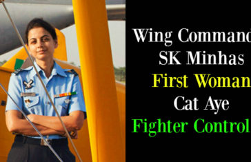 Wing Commander SK Minhas First Woman Cat Aye Fighter Controller