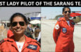 Meet Squadron Leader Sneha Kulkarni First Woman Pilot In Sarang Aerobatics Display Team