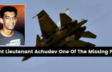 Flight Lieutenant Achudev