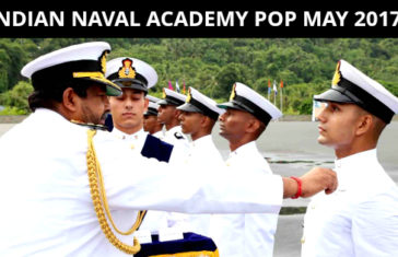 INDIAN NAVAL ACADEMY POP MAY 2017