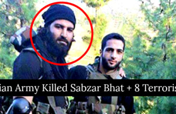 Indian Army Killed Sabzar Bhat