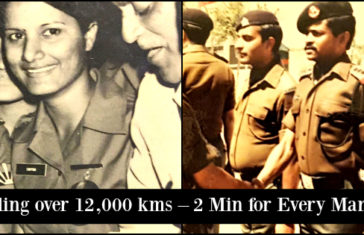 Maj Gen Somnath Jha & Mrs Chitra Jha