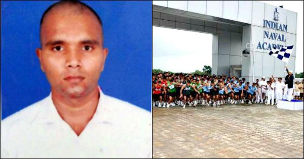 Navy cadet Gudaepa Sooraj
