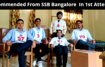 Recommended From SSB Bangalore In 1st Attempt