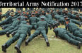 Join Territorial Army As An Officer 2017