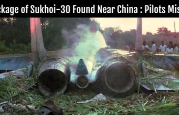 Wreckage of Sukhoi-30 Found Near China Pilots Missing