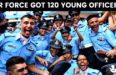 AIR FORCE GOT 120 YOUNG OFFICERS