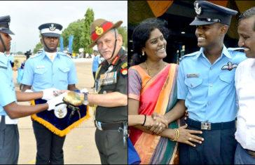 Meet Flying Officer K Koushik Won Chief of Air Staff Sword of Honour