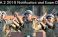 NDA 2 2018 notification and Exam Date