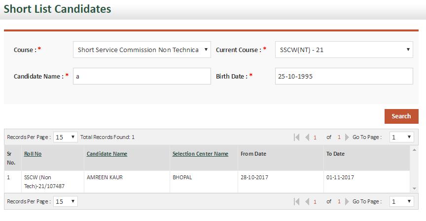 SSC 21 NT SSB Dates