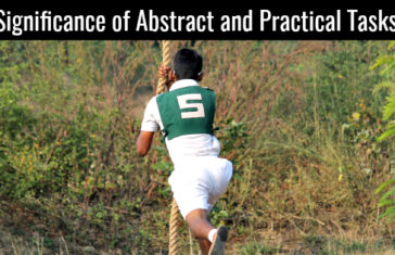 Significance of Abstract and Practical Tasks