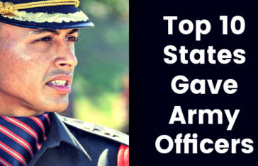 Top 10 States Gave Army Officers
