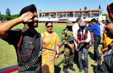 Lt. Harkirat Singh Saluting His Father Is A Dream Of Many Defence Aspirants