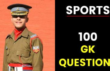 ssb interview gk questions