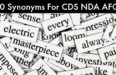 100 Synonyms For CDS NDA AFCAT