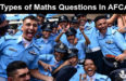 11 Types of Maths Questions In AFCAT