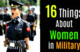 16 Things About Women in Military