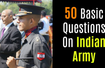 50 Basic Questions On Indian Army