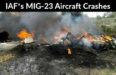 IAF's MIG-23 Aircraft Crashes