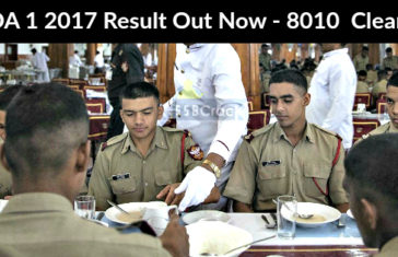 NDA 1 2017 Result Out Now - 8010 Cleared