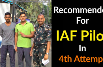 Recommended For IAF Pilot In 4th Attempt