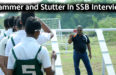 Stammer and Stutter In SSB Interview