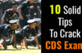 10 Solid Tips To Crack CDS Exam