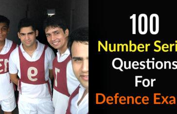 100 Number Series Questions For Defence Exams