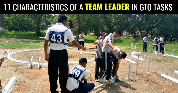 11 CHARACTERISTICS OF A TEAM LEADER IN GTO TASKS
