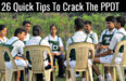 26 Quick Tips To Crack The PPDT