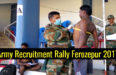 Army Recruitment Rally Ferozepur 2017