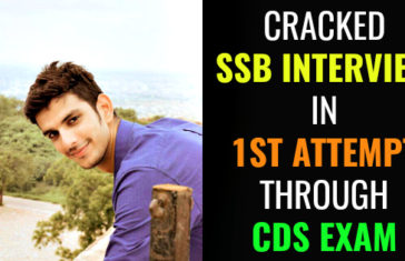 CRACKED SSB INTERVIEW IN 1ST ATTEMPT THROUGH CDS EXAM