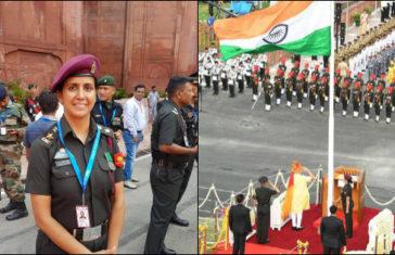 Meet Lt Col Kanchan Kulhari 1st AMC Officer Assisted PM In Hoisting The National Flag