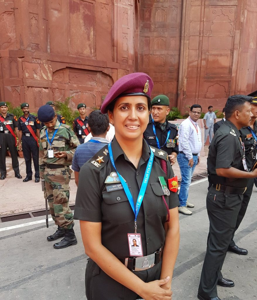 Lt. Col Kanchan Kulhari