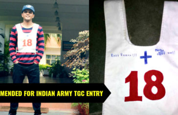 RECOMMENDED FOR INDIAN ARMY TGC ENTRY
