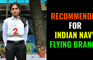 RECOMMENDED FOR INDIAN NAVY FLYING BRANCH