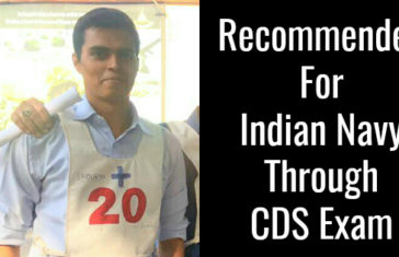 Recommended For Indian Navy Through CDS Exam