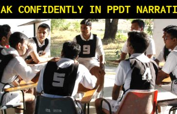 SPEAK CONFIDENTLY IN PPDT NARRATION